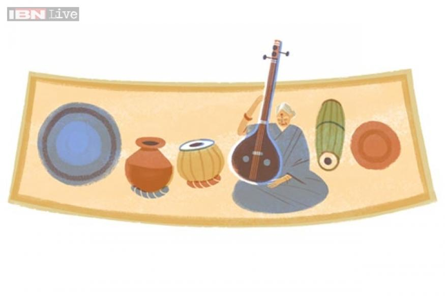 MS Subbulakshmi: Google doodles the Bharat Ratna's 97th birthday