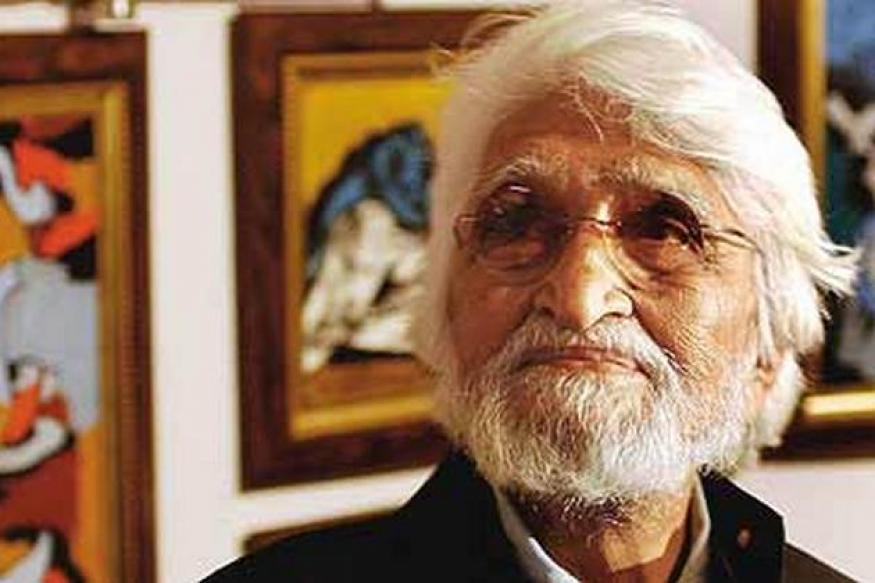 MF Husain's 'Bhopal' up for auction in UK