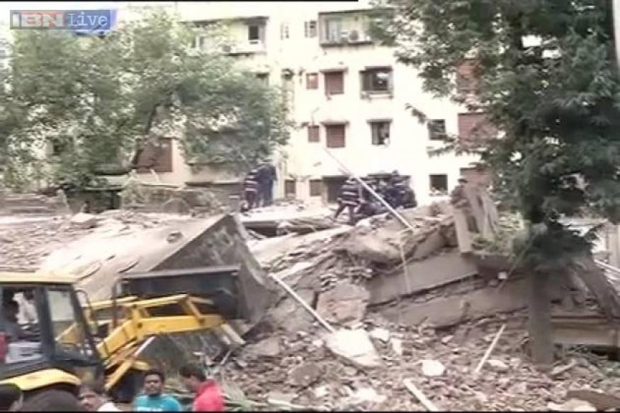 9 dead as 4-storey building collapses in Mumbai