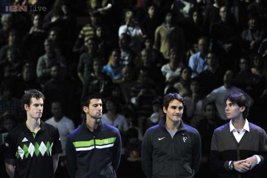 Murray, Djokovic, Nadal seal ATP Tour finals spot; Federer battling