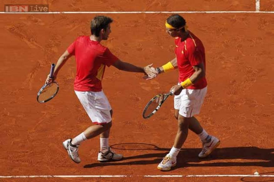 Spain beat Ukraine 3-0 in Davis Cup playoff