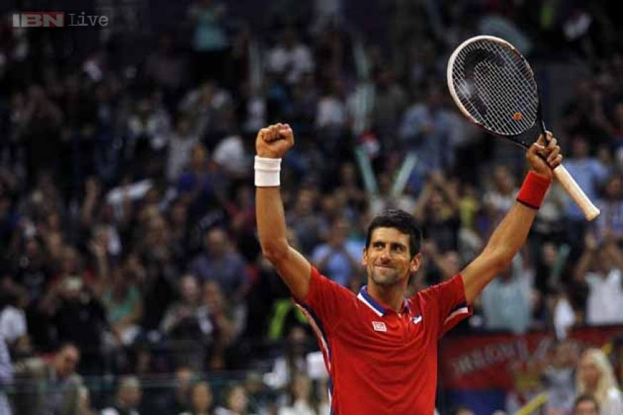 Davis Cup: Djokovic gives Serbia 1-0 lead over Canada