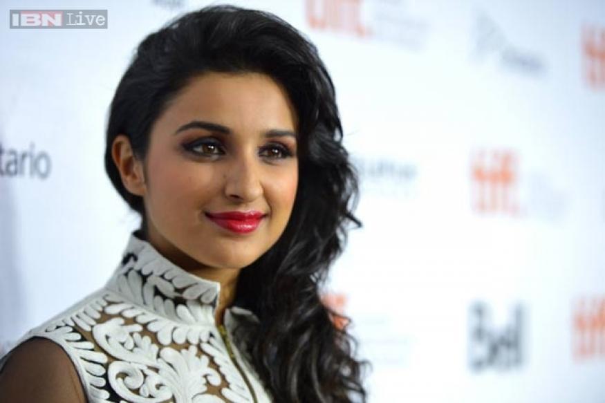 Snapshot: Parineeti Chopra takes 'Shuddh Desi Romance' to Toronto