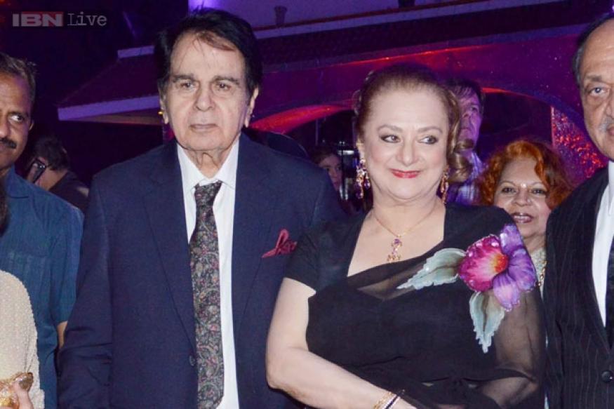 Dilip Kumar is recovering, needs rest: Saira Banu