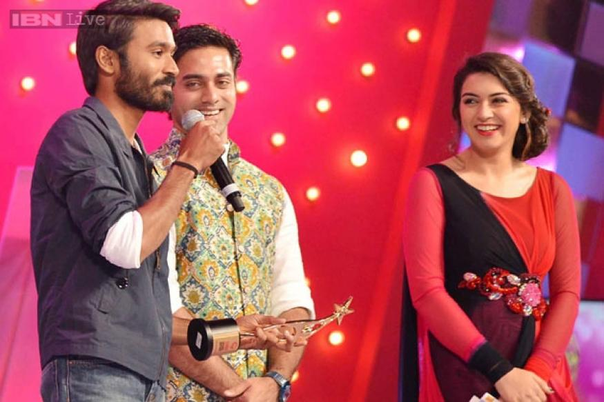 Dhanush, Shruti Haasan win top laurels at SIIMA awards