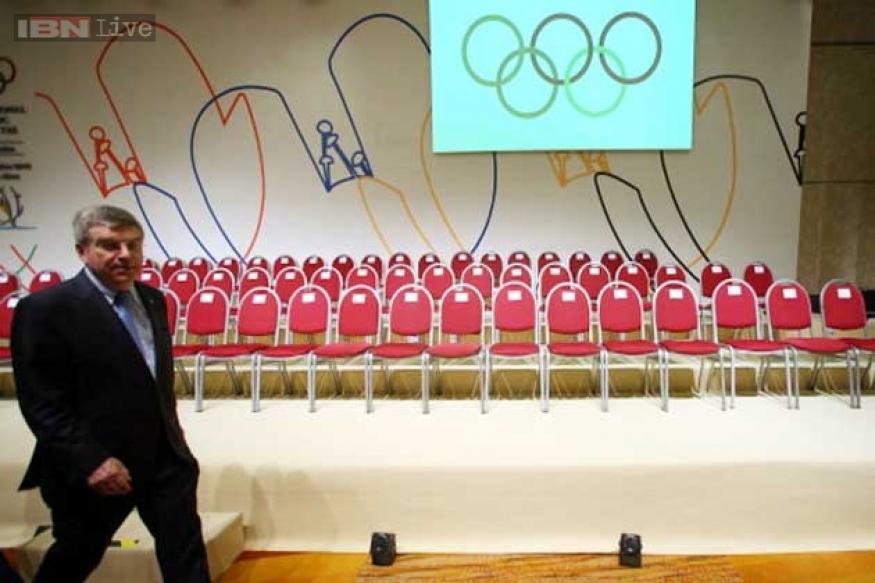 IOC President Thomas Bach steps down as German sports chief