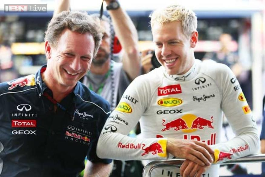 Red Bull's Sebastian Vettel grabs pole position for Singapore GP