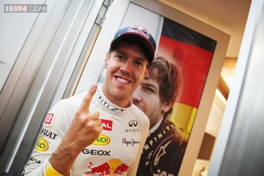 Sebastian Vettel fastest in 2nd practice for Singapore Grand Prix