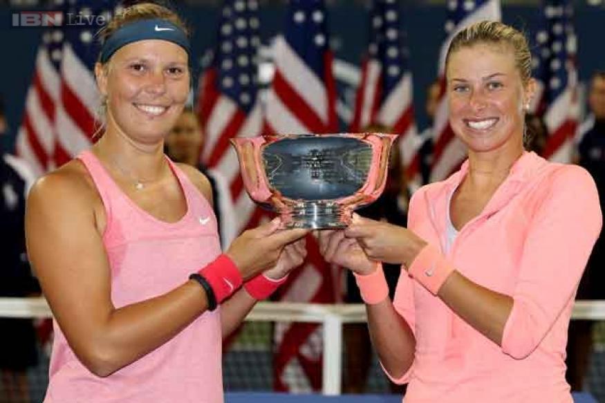 Hlavackova, Hradecka win US Open women doubles title