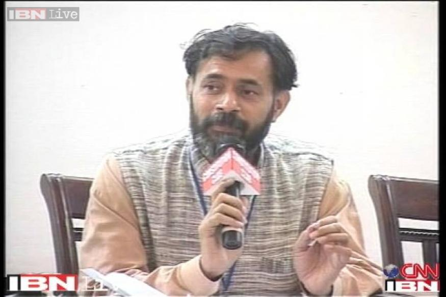 Yogendra Yadav sacked from UGC for being a member of the AAP
