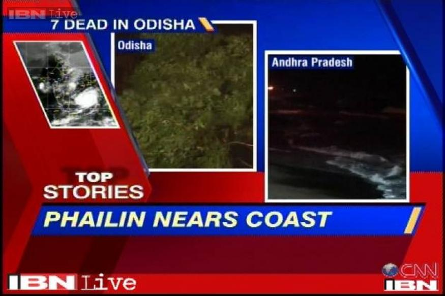 Cyclone Phailin hits Odisha coast: How the day progressed