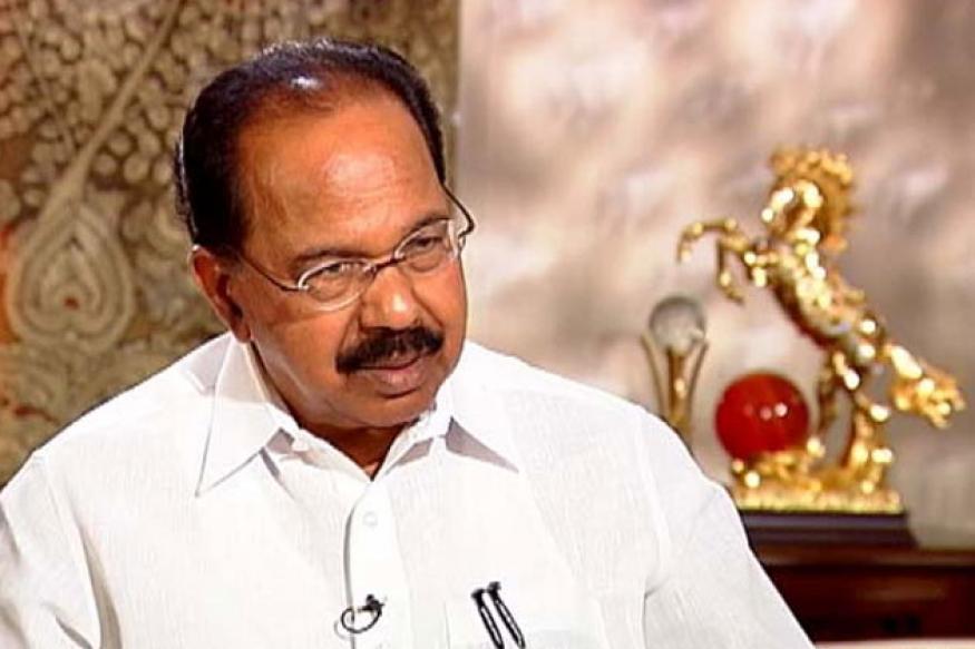 Aadhaar not mandatory for LPG subsidy: Veerappa Moily