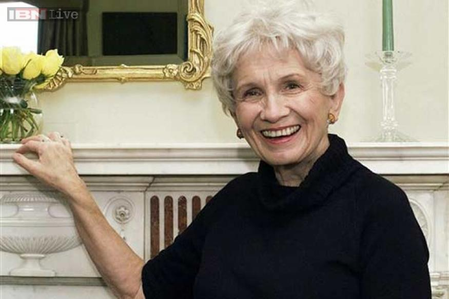 2013 Literature Nobel Prize awarded to Canadian author Alice Munro