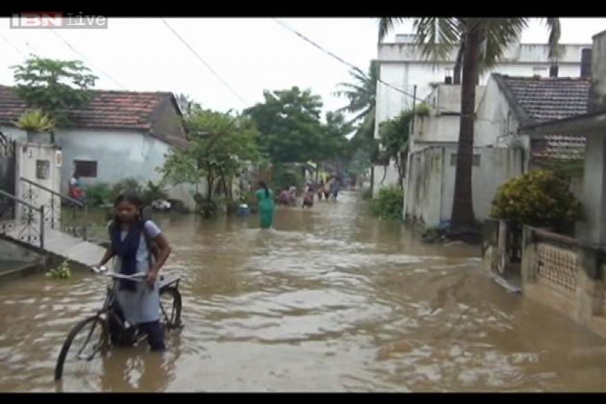 Andhra floods: Kiran Reddy tours rain-hit areas; death toll mounts to 53