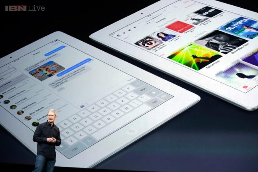 Apple unveils iPad Air, the fifth-generation iPad; prices start at $499