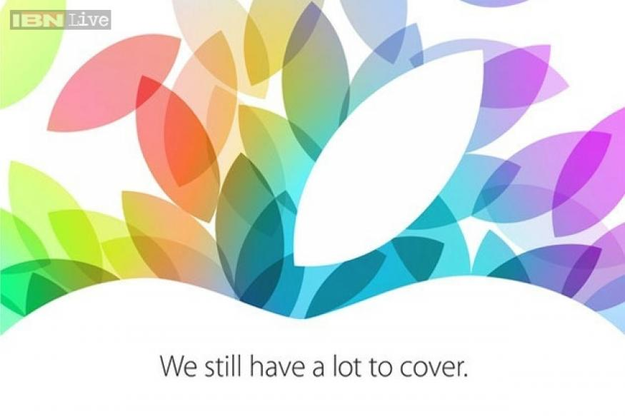 Apple sends out October 22 iPad event invites; iPad 5, iPad Mini 2 expected