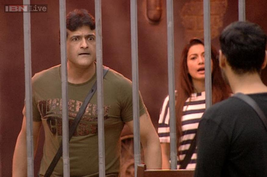 Bigg Boss 7: Armaan, Andy get into a crazy fight