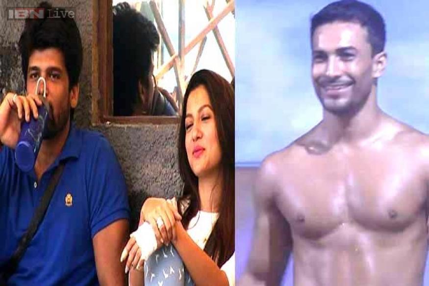 Bigg Boss 7: Asif flirts with Gauhar, makes Kushal jealous