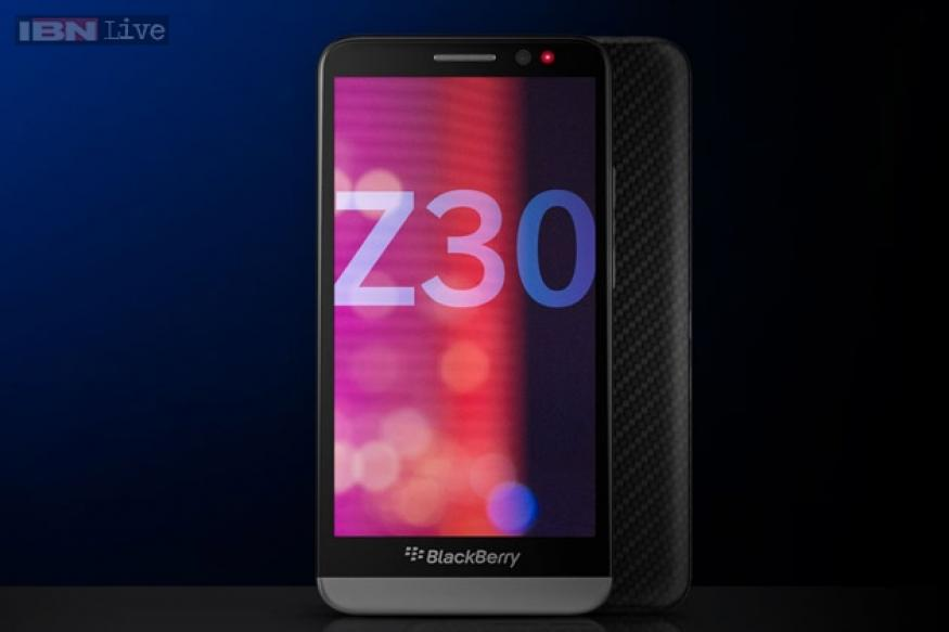 BlackBerry Z30 coming to India today, listed online