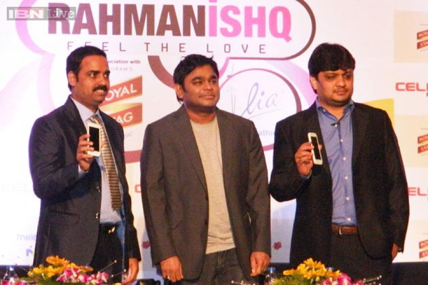 Celkon RahmanIshq AR45 music phone launched at Rs 7,999