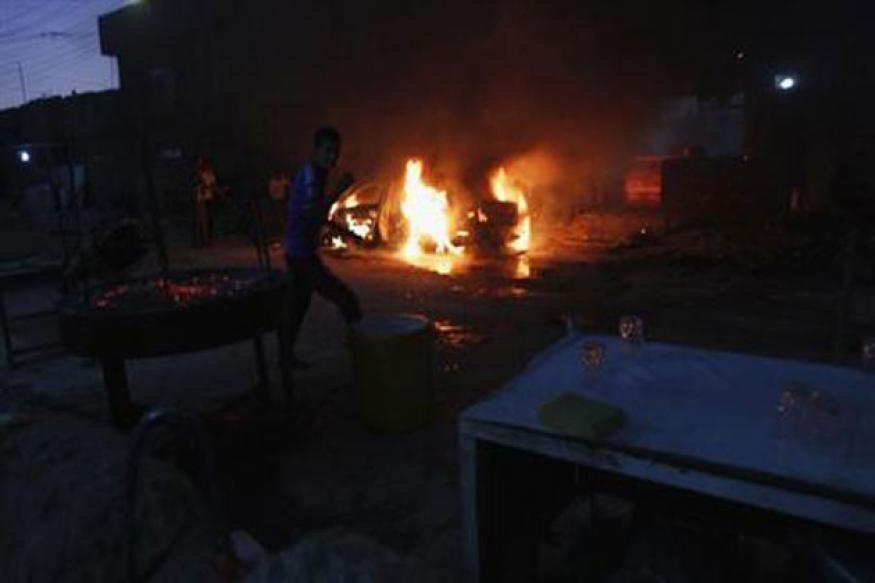 Explosions across Baghdad kill at least 38 people