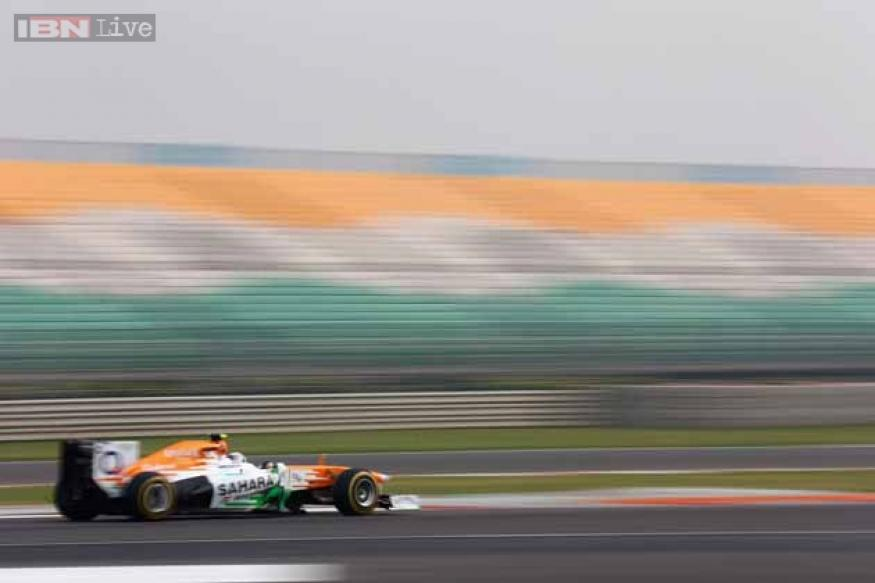 Force India record first double points finish at home race