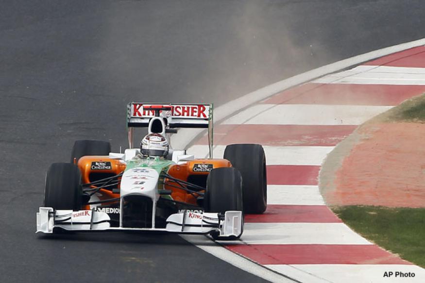 Di Resta secures P12 in Suzuka qualifying, Sutil 17