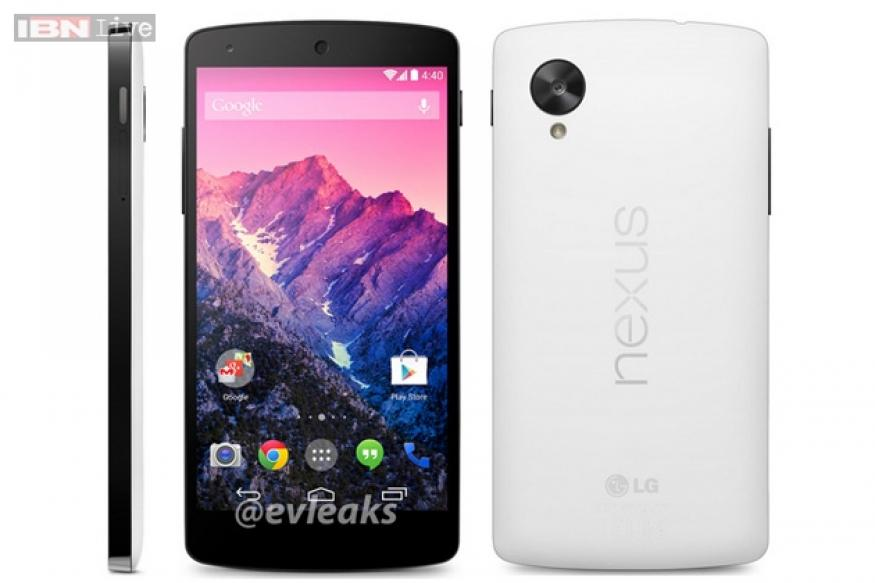 Google Nexus 5 now rumoured to be launched on Nov 1, coming in black, white