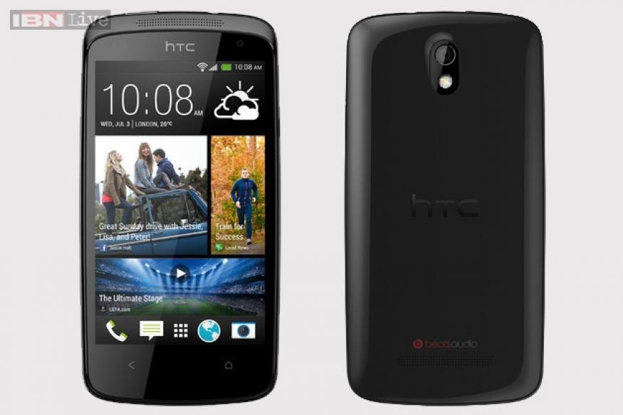 HTC Desire 500 with 4.3-inch display up for pre-order at Rs 21,490