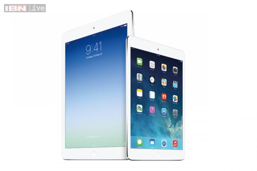 Apple unveils the iPad Air, iPad Mini with Retina Display, new Macs