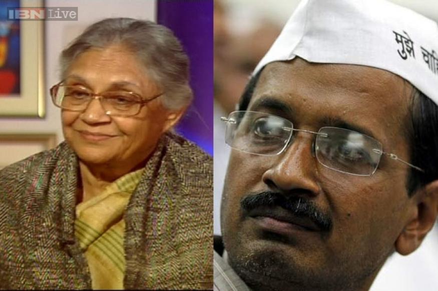 Dikshit takes on Kejriwal; both claim they will win Delhi polls