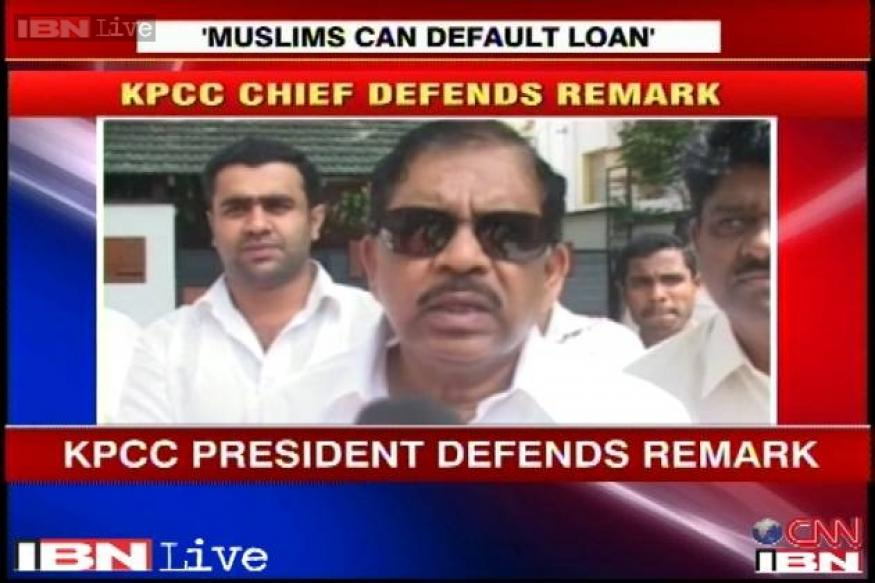 KPCC chief defends his comments, says loans to minorities will be a boost