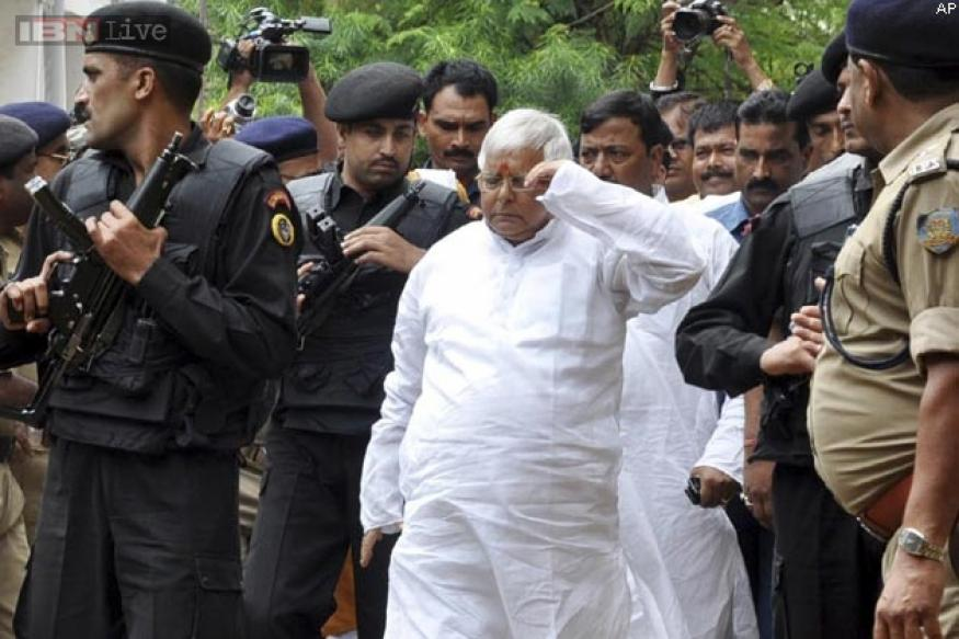 Lalu's jail term same as Nelson Mandela's, says RJD