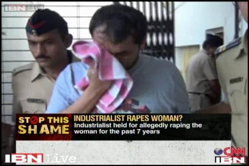 Mumbai: Industrialist rapes woman for 7 years, arrested