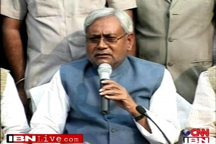Nitish cancels Munger visit after serial blasts in Patna