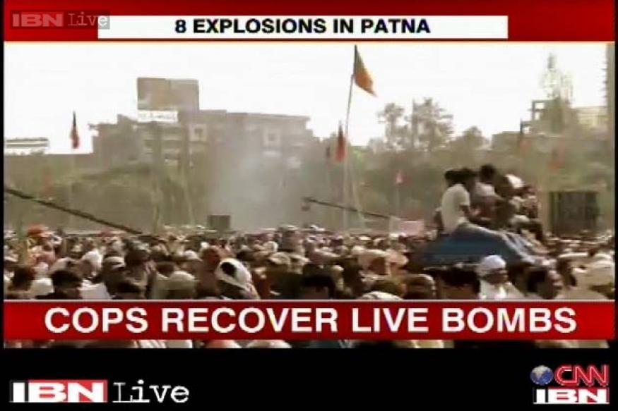 Multiple blasts rock Patna before Modi's Hunkar rally, 5 killed, 83 injured