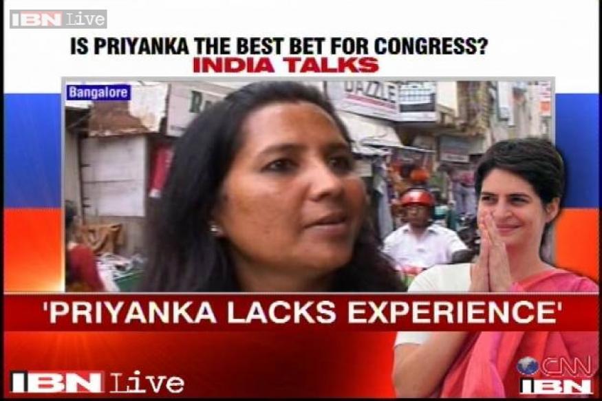 Will Priyanka Gandhi be able to stop the Narendra Modi wave?