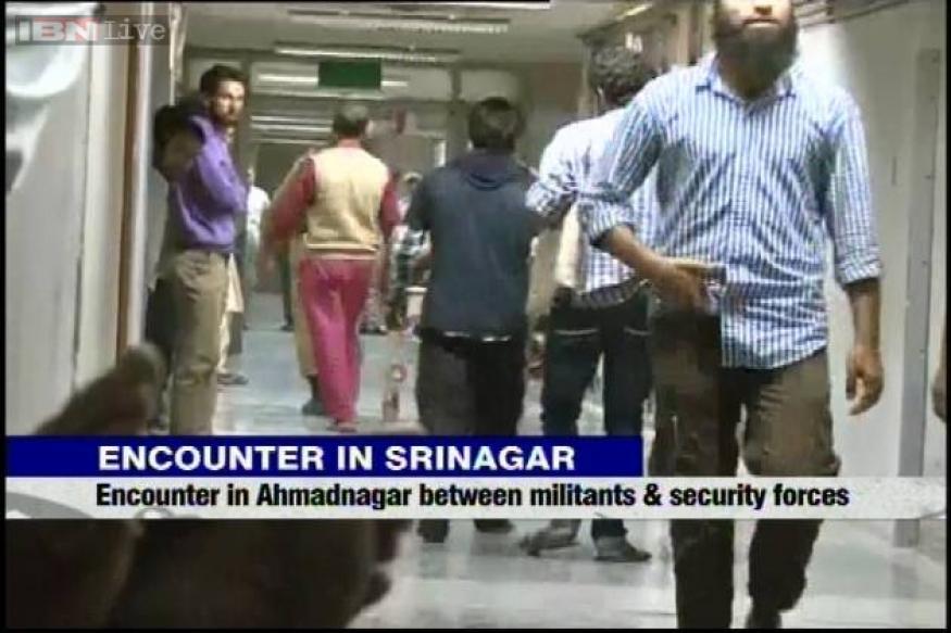 Srinagar: Encounter on between police and terrorists, 1 policeman injured