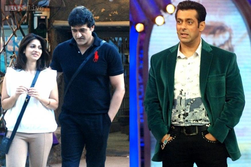 Bigg Boss 7: Salman Khan warns Tanisha, Armaan of prying cameras