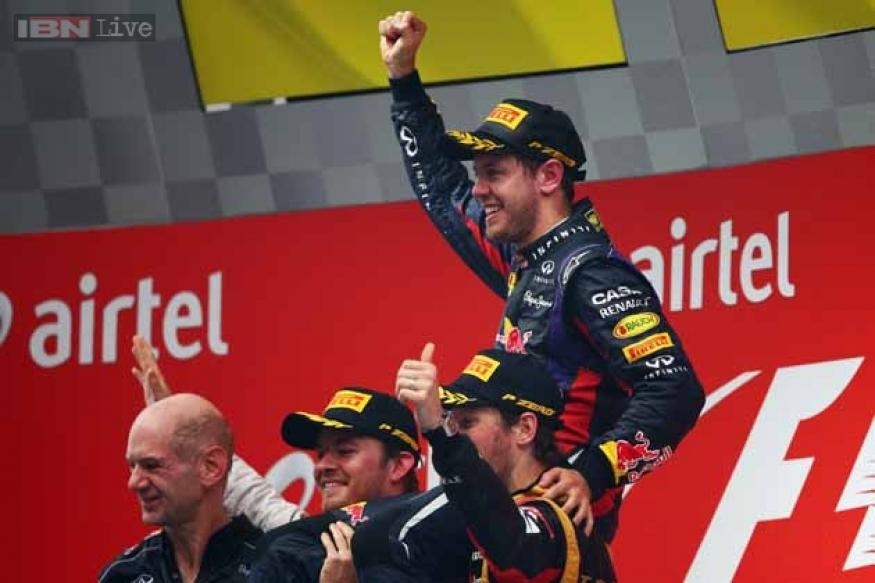 Sebastian Vettel's road to the 2013 Championship title