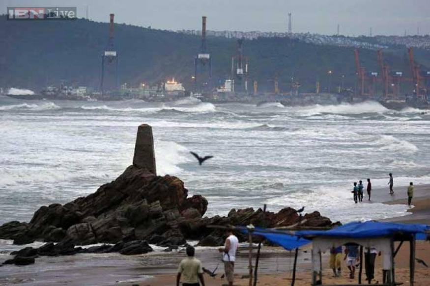How the day progressed after cyclone Phailin hit the coast
