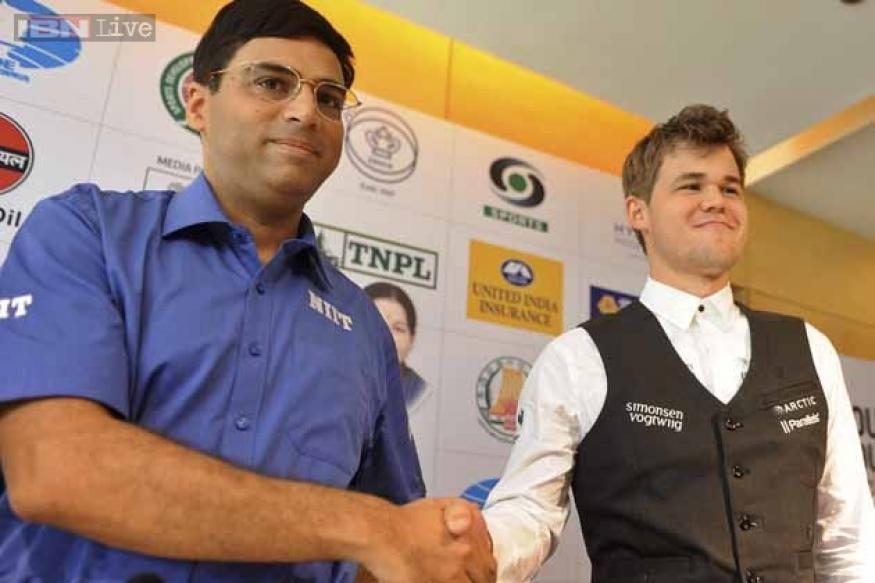 World Chess Championship: Anand draws Game 1 with Carlsen