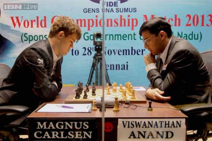 World Chess Championship: Carlsen posts another win over Anand in Game 6