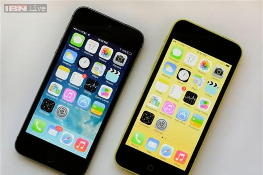 Apple iPhone 5s, 5c India launch today; prices start at Rs 41,900