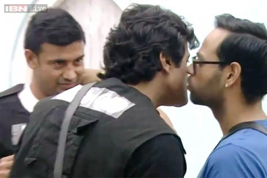 Bigg Boss 7: Post brawl, Armaan and Andy kiss and make up