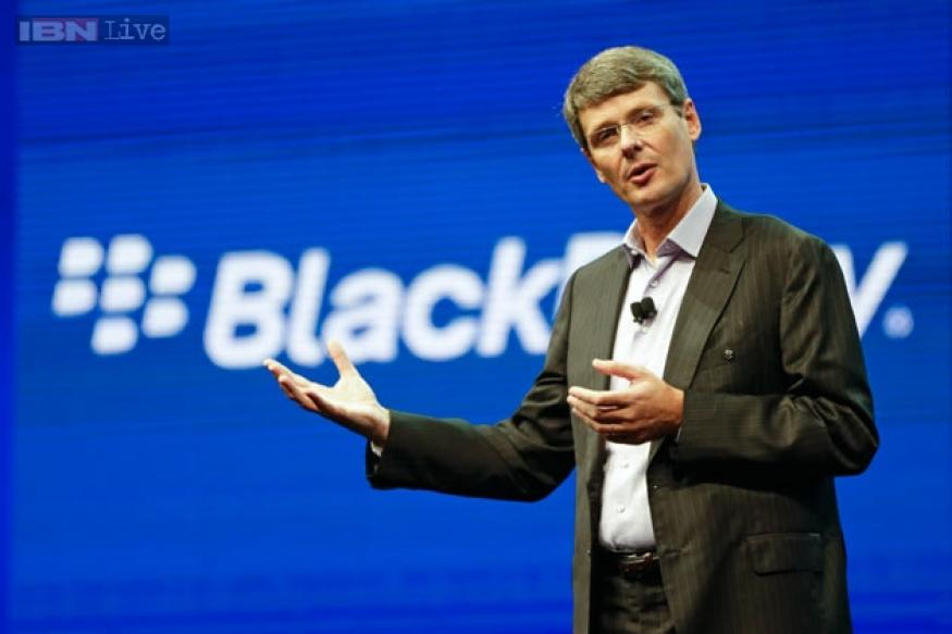 BlackBerry abandons sale plan, will replace CEO Thorsten Heins