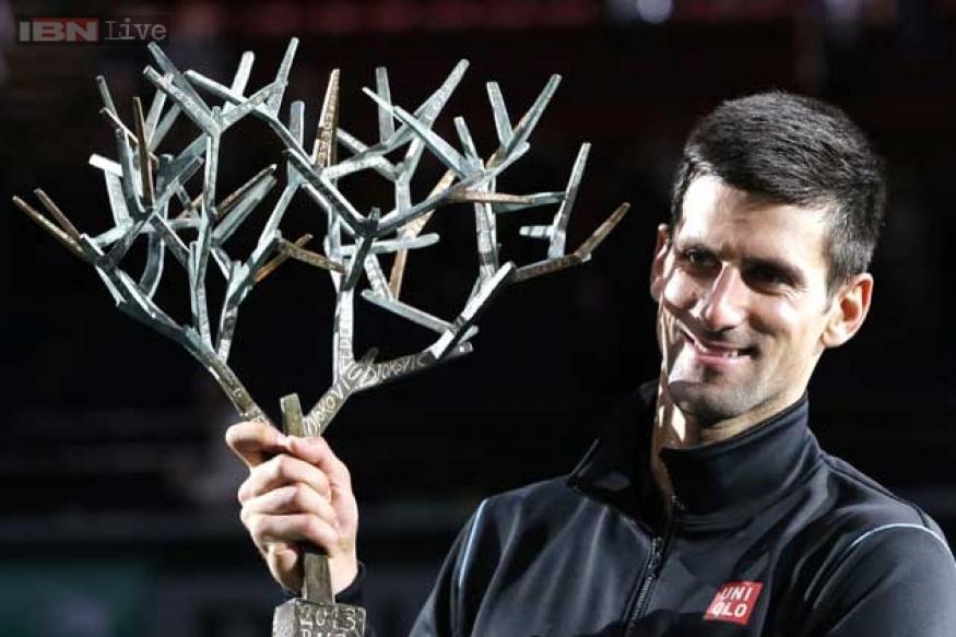 Novak Djokovic dumps David Ferrer to win Paris Masters