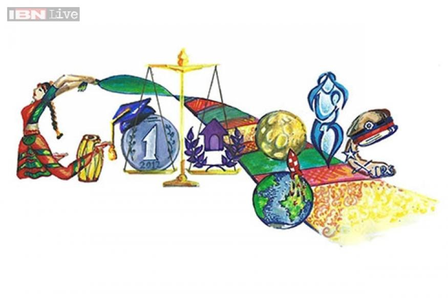 Children's Day: Doodle 4 Google winning entry shows different facets of Indian woman