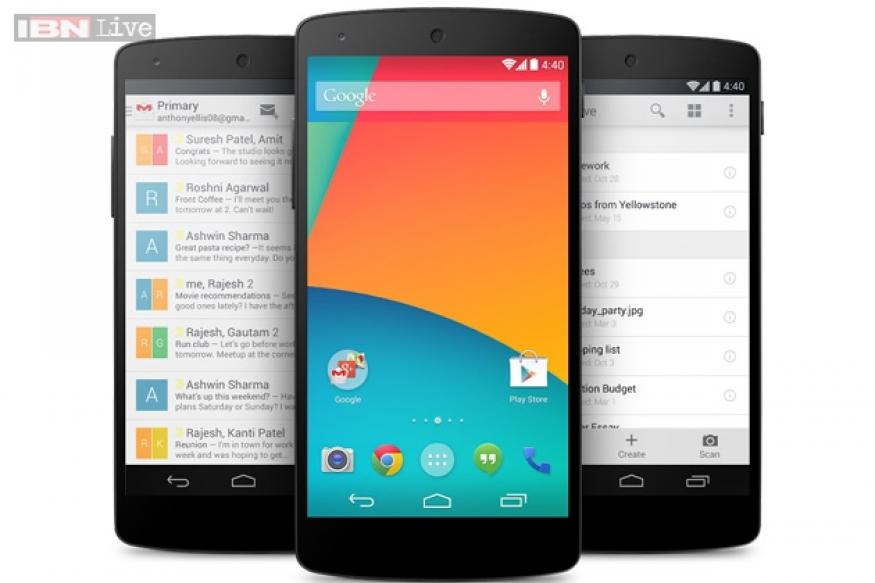 Google Nexus 5 (16GB) available online for Rs 31,807