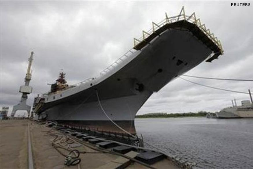 Aircraft carrier INS Vikramaditya inducted into Indian Navy